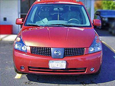 2004 Nissan Quest After Bodywork