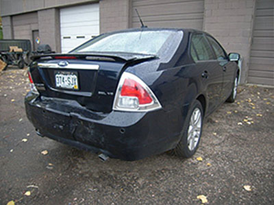 2008 Ford Fusion Before Bodywork