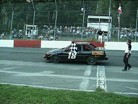 Mike Racing Finish Line