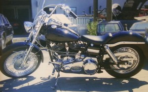 Early 1970's Harley-Davidson Black