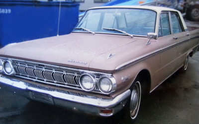 1962 Mercury Pink