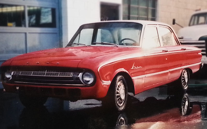 1965 Ford Falcon Red