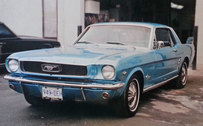 1965 Ford Mustang Blue