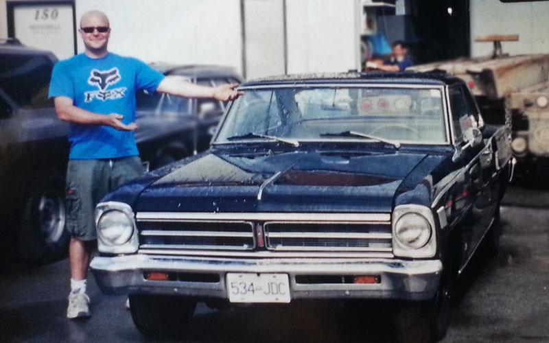 1966 Pontiac Canso Blue