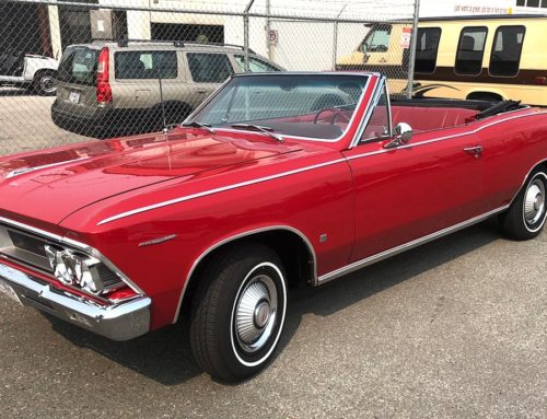 1966 Red Pontiac Beaumont Painted Wet Sanded Polished