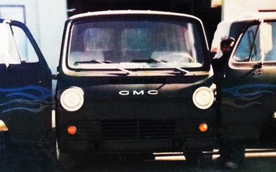 1967 Gmc Flat Nose Black