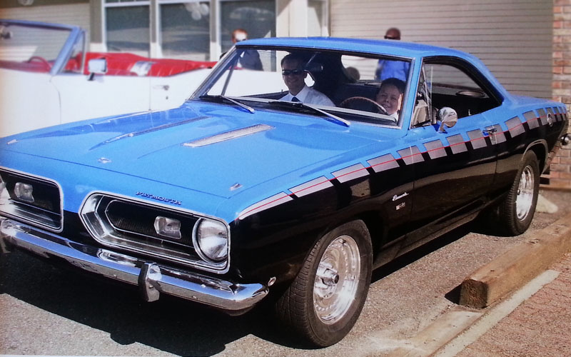 1968 Plymouth Barracuda Blue