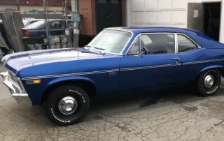 1969 Chevy Nova Blue Restoration
