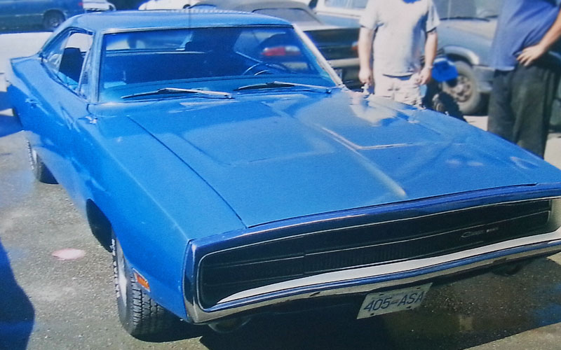 1970 Dodge Charger Blue