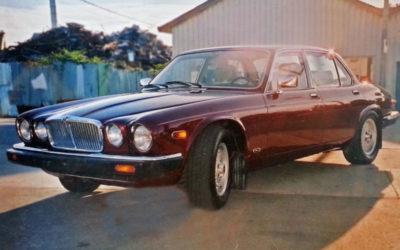 1989 Jaguar Burgandy