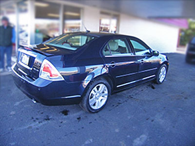 2008 Ford Fusion After Bodywork