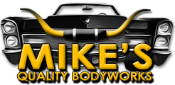 Mike's Quality Bodyworks Logo
