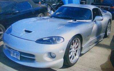 Dodge Viper Silver